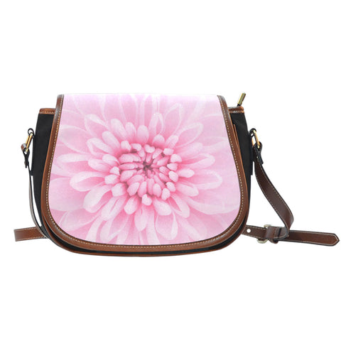 Chrysanthemum Flower Saddle Bag