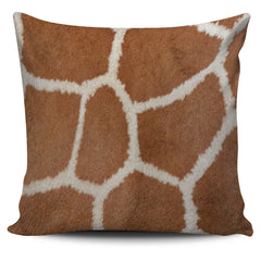 Giraffe Print Pillow Cover