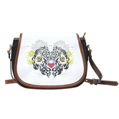 Animal Tattoo Saddle Bag