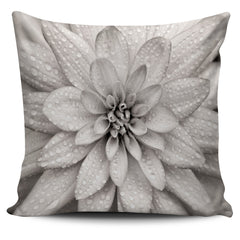 Dahlia Flower Pillow Cover