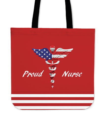 Proud Nurse Cloth Tote Bag