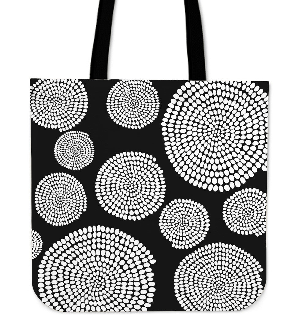 African Swirl Cloth Tote Bag