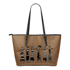 Ethnic Women Small Leather Tote Bags - 9 styles available