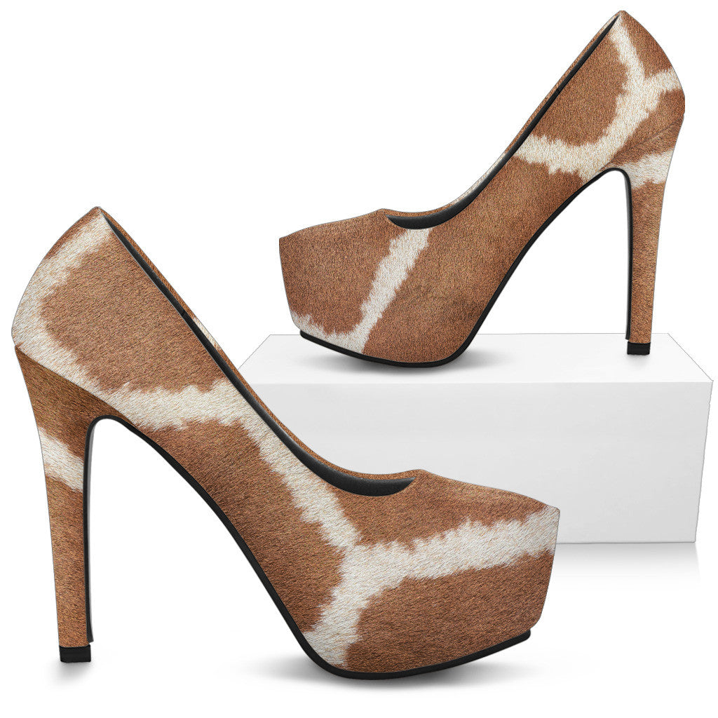 Giraffe High Heels