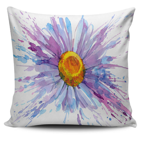 Daisy Flower Pillow Cover