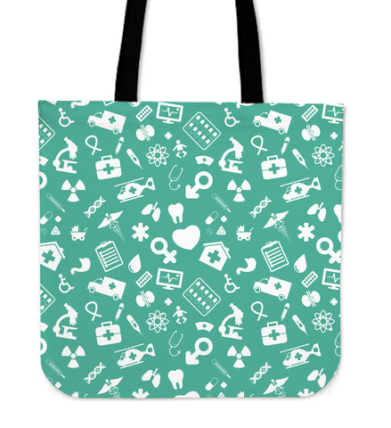 Nurse Cloth Tote Bag
