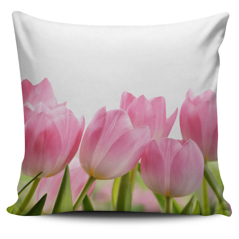 Tulip Flower Pillow Cover