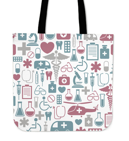Classic Nurse Cloth Tote Bag