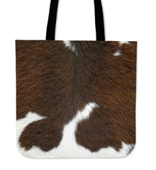 Cowhide Cloth Tote Bag