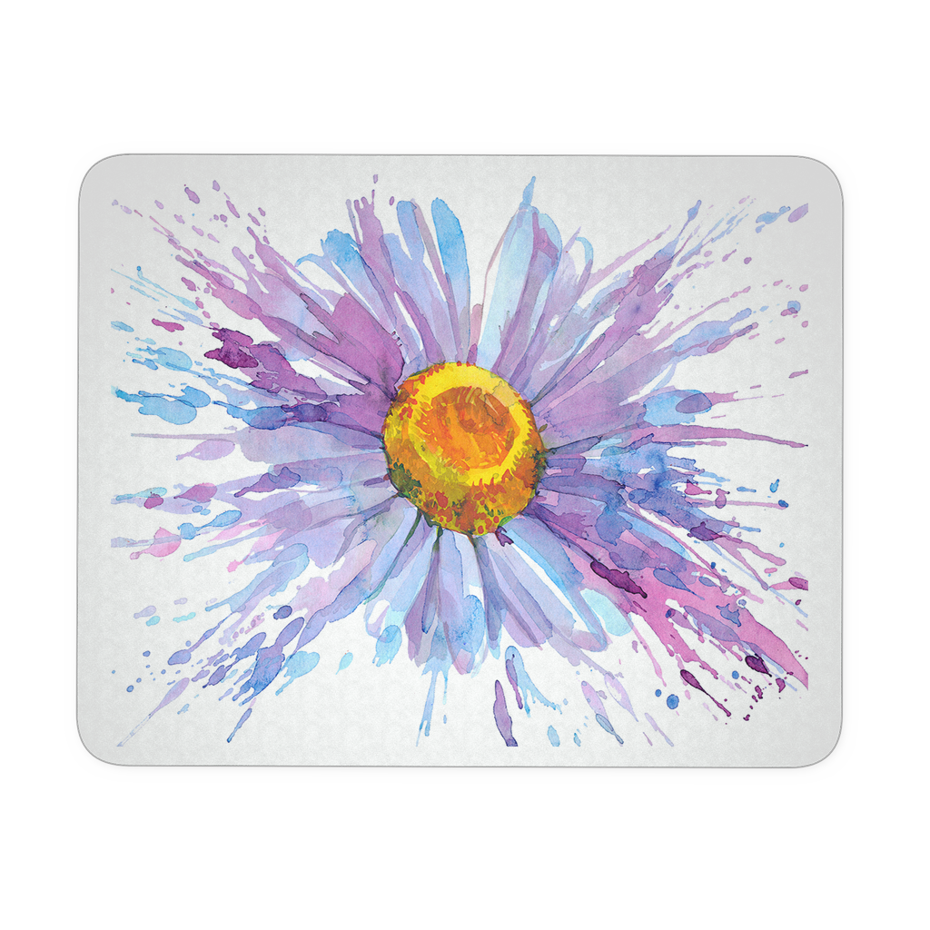 Daisy Flower Mouse Pad