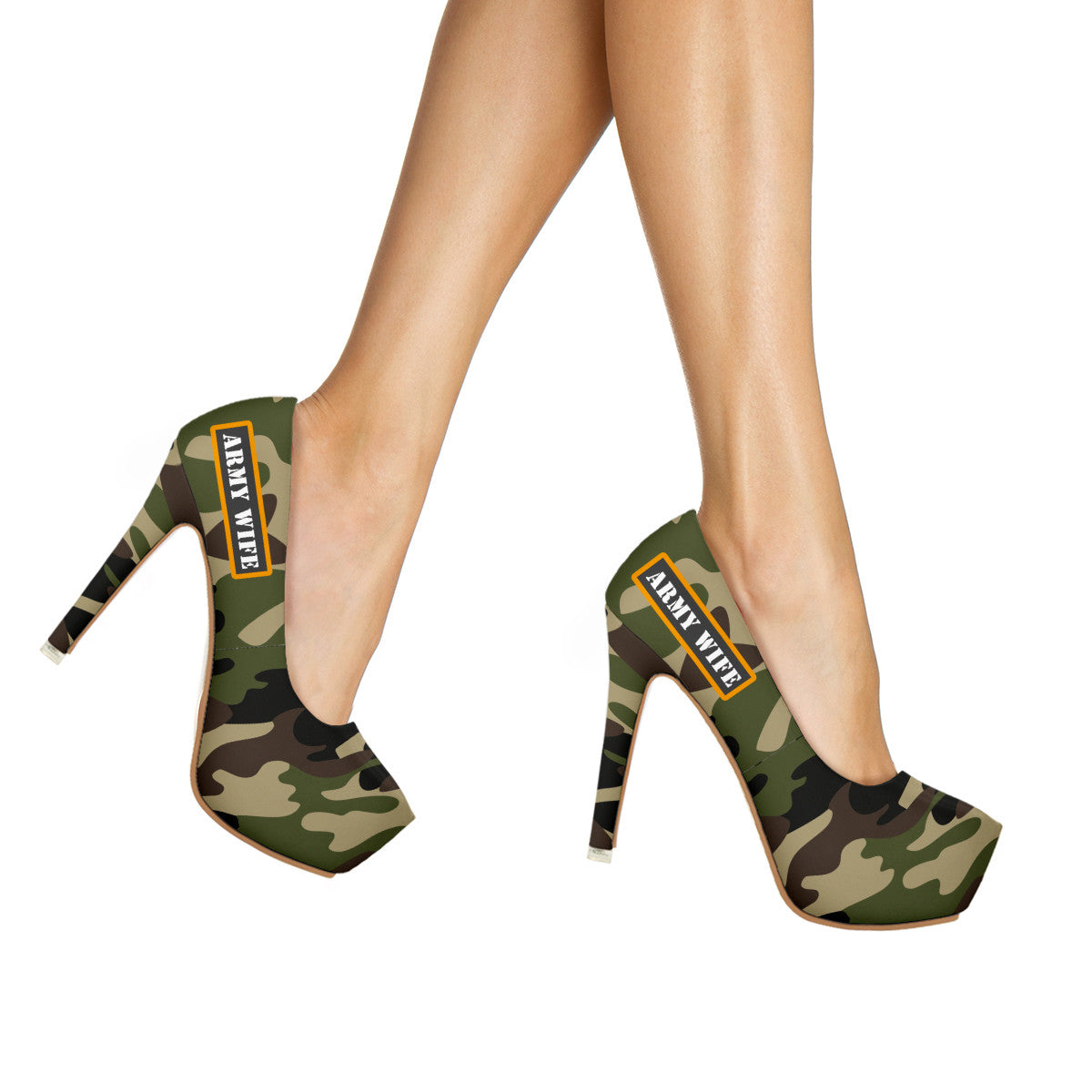 Army Wife High Heels