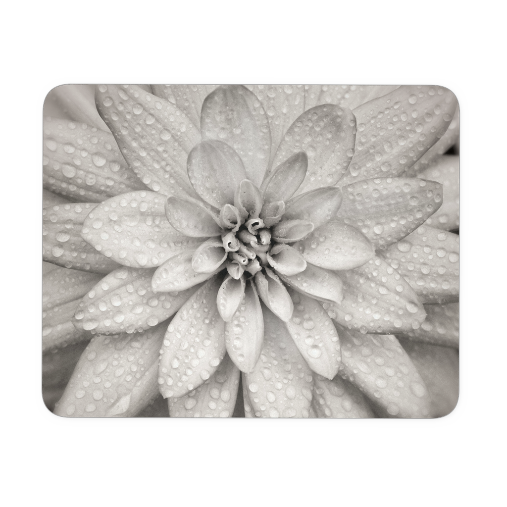 Dahlia Flower Mouse Pad
