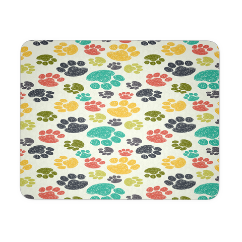 Colorful Paws Mouse Pad