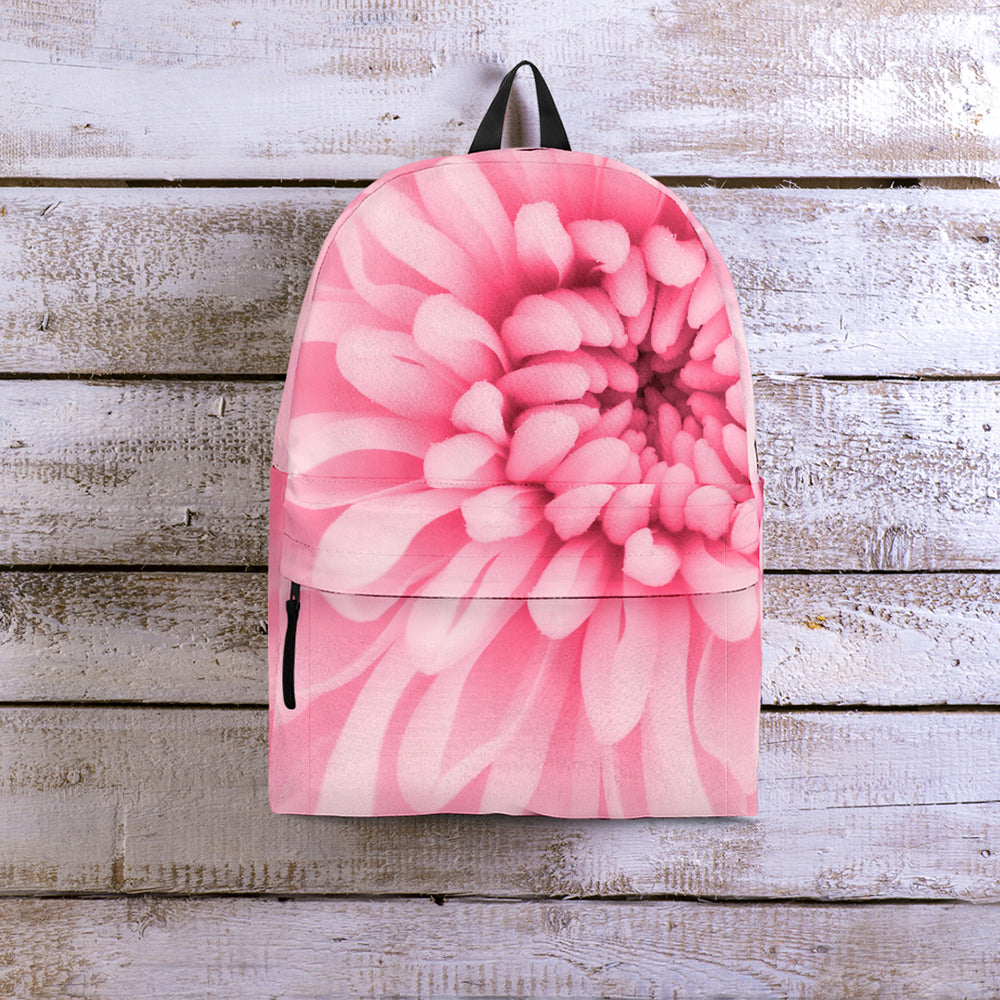 Chrysanthemum Flower Backpack