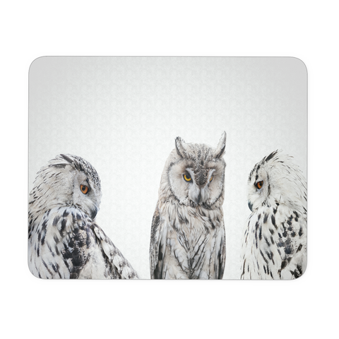 Set of Owls Mouse Pad