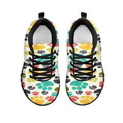 Colorful Paws Sneakers - Available for Men, Women & Kids