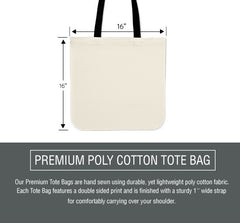Black Owl Cloth Tote Bag