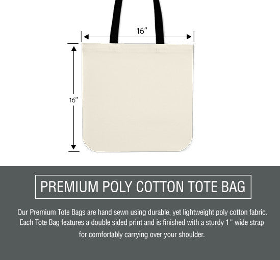 Colorful Paws Cloth Tote Bag