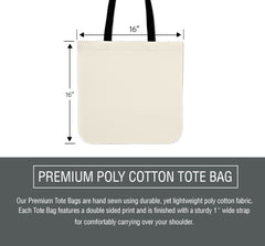Yellow Daisy Flower Cloth Tote Bag