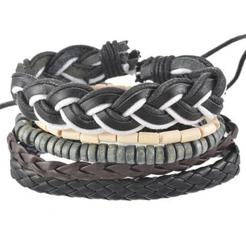 Black Mamba Multi Layer Bracelet