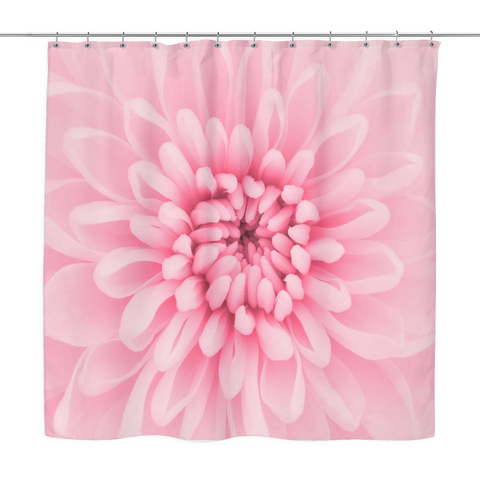Chrysanthemum Flower Shower Curtain