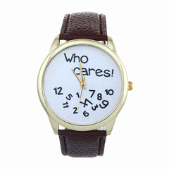 Who Cares Watch - 13 styles available
