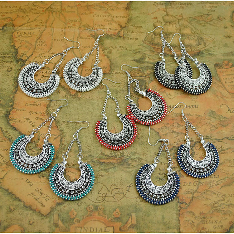 Bohemian Rope Drop Earrings - 5 styles available