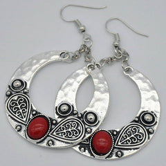 Carved Drop Earrings - 5 styles available