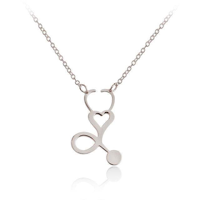 Nurse Petite Heart Necklace