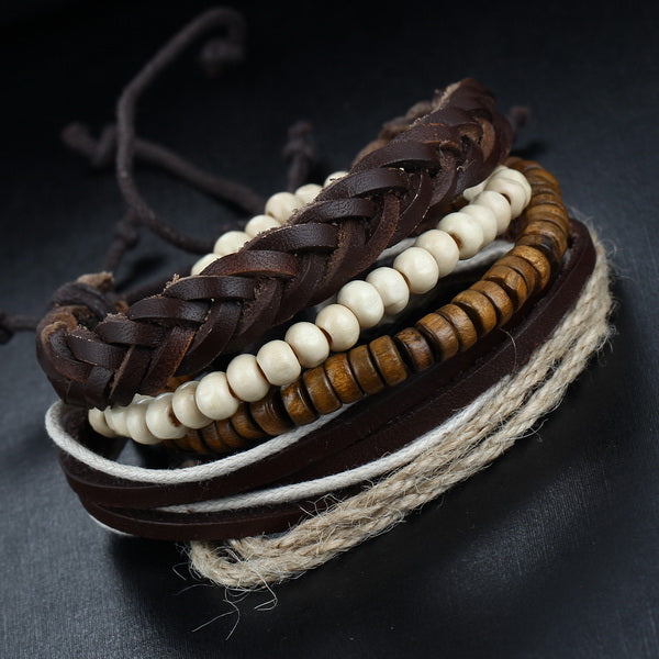 Vintage Ethnic Multi Layer Bracelet