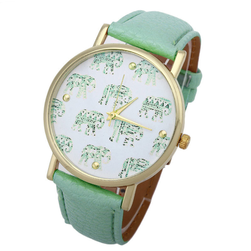 Elegant Elephant Watch