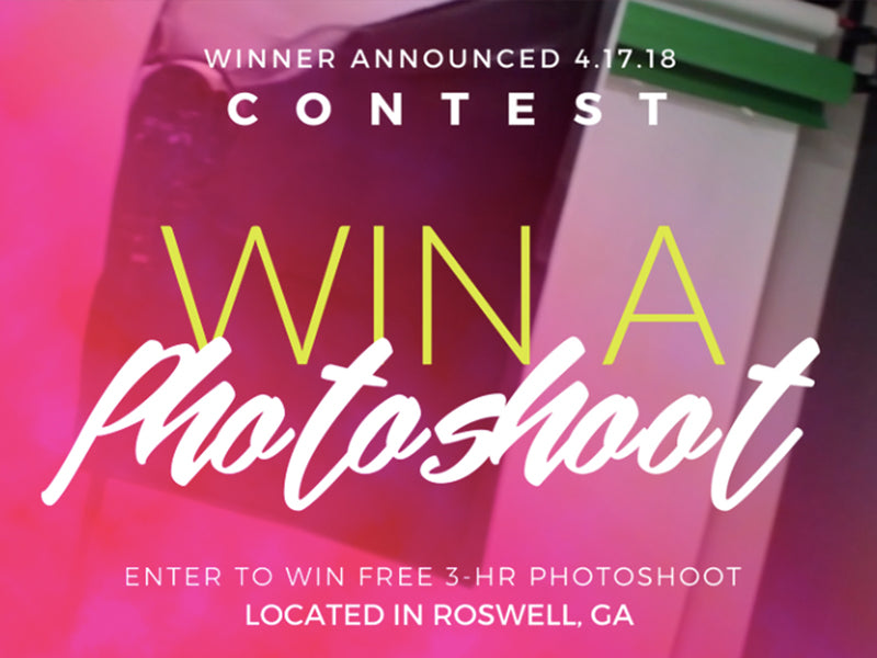 Win a free photoshoot at The Brand Box Club!