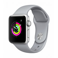 Apple Watch Series 3 (GPS) 42 mm silver aluminium smart watch with sport band