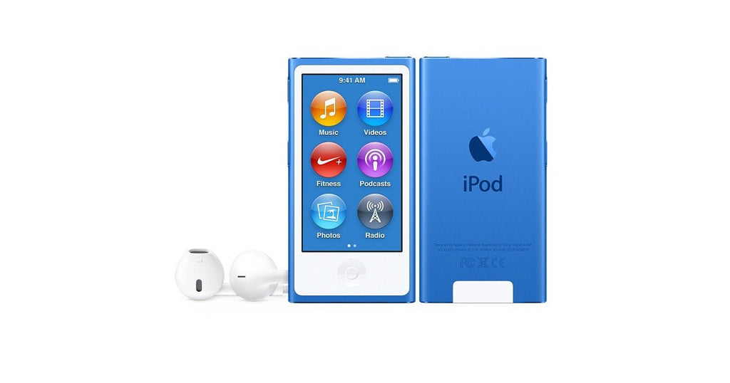 Apple Ipod Nano 16 Gb Blue Silver
