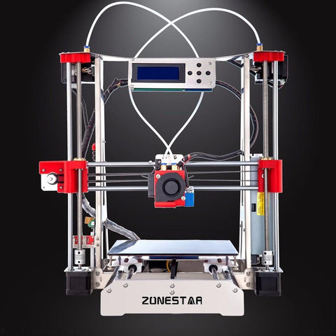 Optional Dual Extruder Full Metal Reprap Prusa I3 3D Printer Diy Kit Auto Leveling Easy Assemble Gft Sdcard Feeder