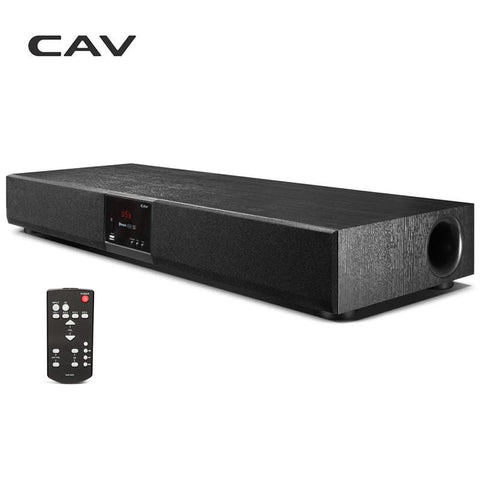 Cav Tm920 All-In-One Digital Amplifiers 2.1 Sound Bar Speaker Subwoofer Surround Sound System Wireless Bluetooth