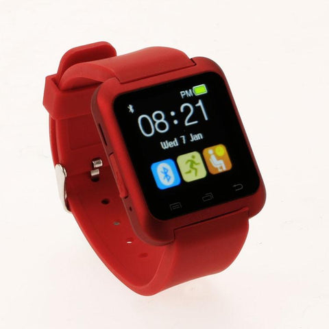 Fashion U80 Bluetooth Smart Watch Wristwatch Smartwatch For Iphone 4 4S 5 5S 6 Samsung S4 Note 2 3 For Htc Xiaomi Android Phone