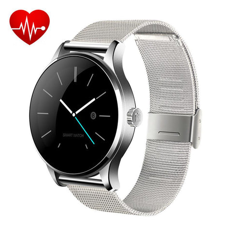 Original K88H Mtk2502 Heart Rate Monitor Bluetooth Smart Watches Wearable Health Whatch Clock For Android Phone Ios Iphone Watch