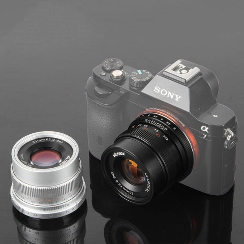 35Mm F2 Wide-Angle Large Aperture Fixed Prime Camera Lens For Sony Nex E Full Frame A7 A7Sii A7Rii A7R A6300 A6000 Nex-7