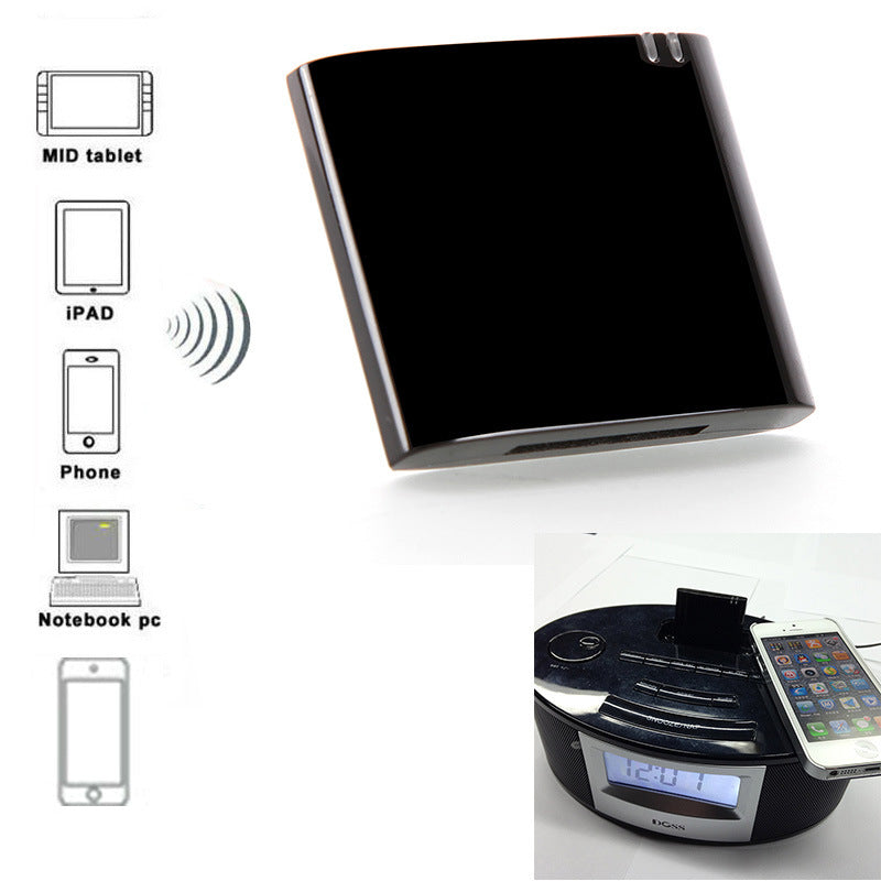 30Pin Dock APT-X Mini CSR4.0 Bluetooth Receiver A2DP Music Receiver Bluetooth for iPad iPod iPhone CSR4.0-7450S DH