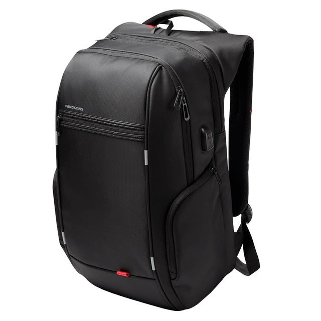 Brand 13.3,15.6 17.3 inch Waterproof Anti-theft Notebook Computer Backpack for Men Women External USB Charge Laptop Bag