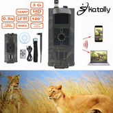 Skatolly Brand 1*HC700G 940nm Infrared Hunting Cam 16MP 3G GPRS MMS SMTP SMS 1080P Night Vision Hunter Camera Free shipping!