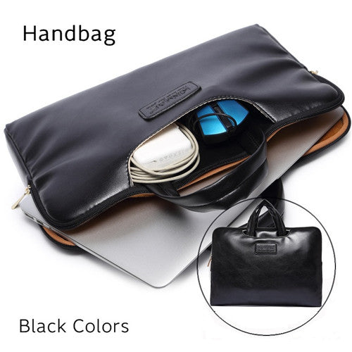 2018 New Brand PU Leather Bag For Laptop 13,14,15.6 inch, Messenger Case For MacBook Air,Pro 13.3