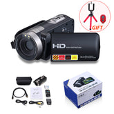 "Digital Camera Professional 16x Digital Zoom HD Digital Video Camera Camcorder DV 3.0"" LCD Touch Screen Photo Camera with Remote"