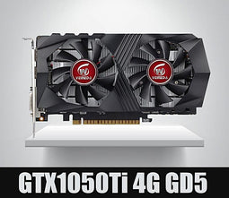 VEINEDA Video Card for Computer Graphic Card PCI-E GTX1050Ti GPU 4G DDR5 for nVIDIA Geforce Game