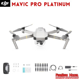 Open-box DJI Mavic Pro/Mavic Pro Combo Platinum FPV Drone with 4K video 1080p camera RC Helicopter Flight time 30 MINS