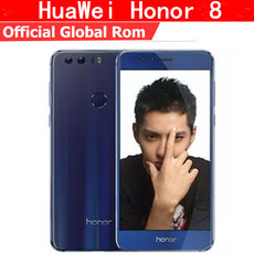 "International Firmware HuaWei Honor 8 4G LTE Cell Phone Android 6.0 5.2"" FHD 1920X1080 4GB RAM 64GB ROM Fingerprint NFC"