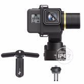 WG2 3-Axis Waterproof handheld Camera gimbal Stablizer Mini Tripod For GoPro Hero5 4 Session MINI Camera