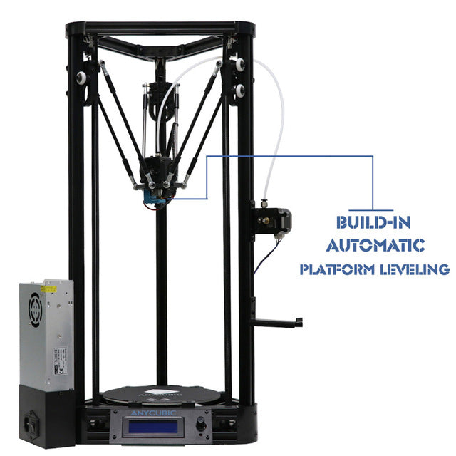 ANYCUBIC 3D Printer Impresora 3D Auto-level Platform Pulley Linear Guide Plus Large Printing Size Desktop Diy Kit High Quality