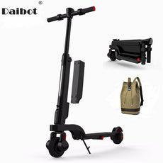 Daibot X6 Electric Kick Scooter Two Wheel Electric Scooters Shock Absorber/Suspension Portable E-scooter 24V For Adults